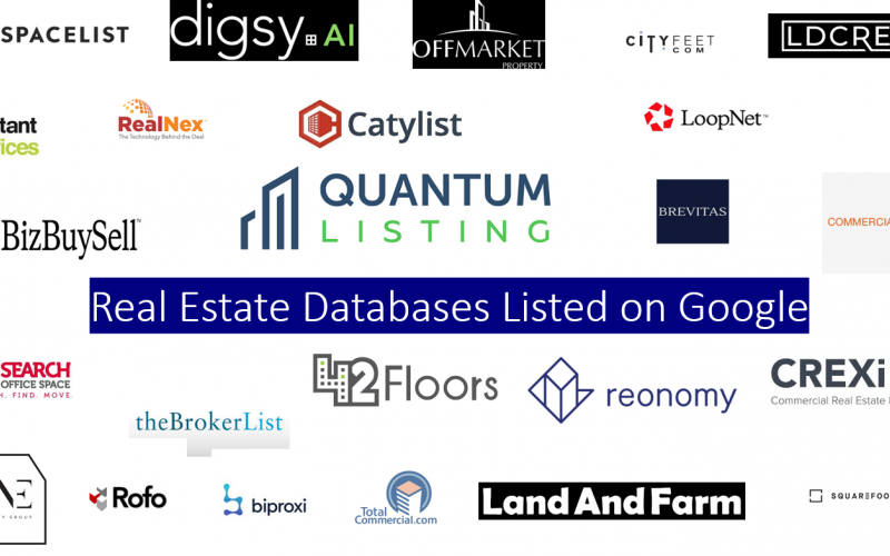 Real Estate Databases Listed on Google