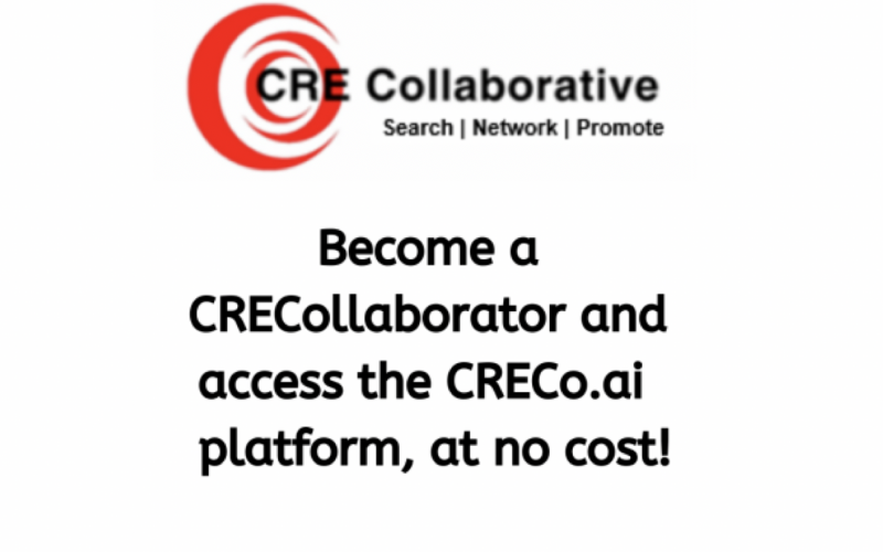 CRE Collaborative becoming a CRECollaborator today