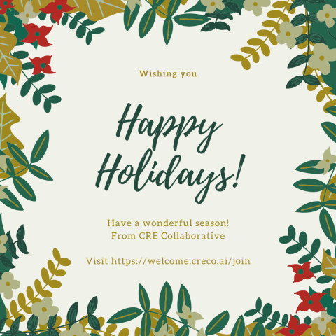 Happy Holidays from Our Team.