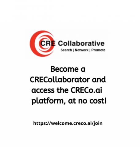CRE Collaborative becoming a CRECollaborator today